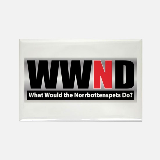 WWND Rectangle Magnet (100 pack)