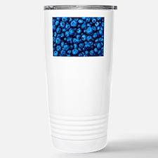 Ripe blueberries Travel Mug