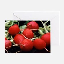 Radishes Greeting Card