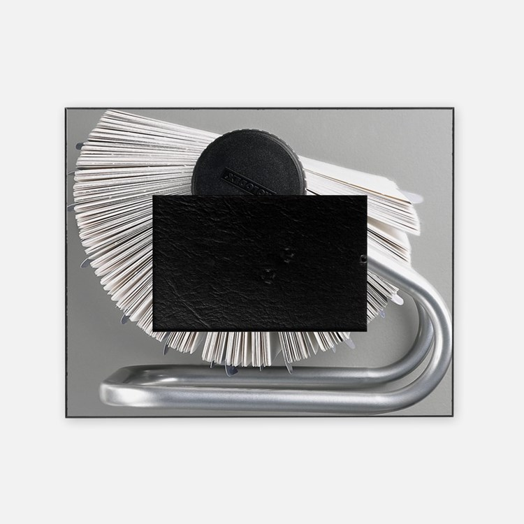 Rolodex Picture Frame