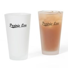 Prairie Lea, Vintage Drinking Glass