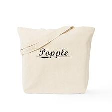 Popple, Vintage Tote Bag
