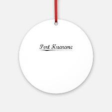 Port Hueneme, Vintage Round Ornament