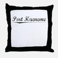 Port Hueneme, Vintage Throw Pillow