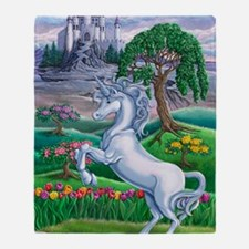 Unicorn Kingdom 23x35 Throw Blanket