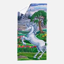 Unicorn Kingdom 23x35 Beach Towel