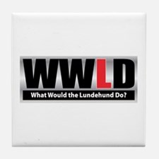 WW the Lundehund D Tile Coaster