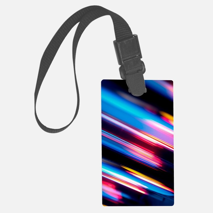 Reflected light, abstract image Luggage Tag