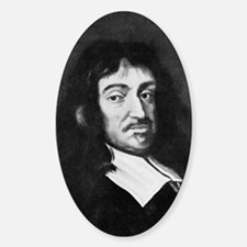 Rene Descartes, French mathematicia Decal