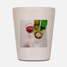 Red and white wine Shot Glass