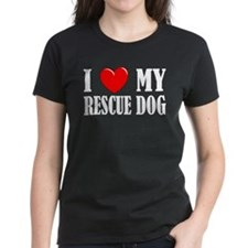 Love My Rescue Dog Tee