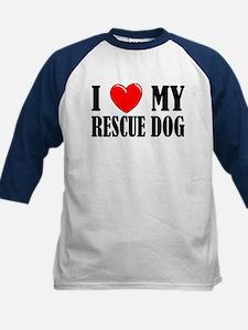 Love My Rescue Dog Tee