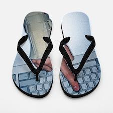 Repetitive strain injury Flip Flops