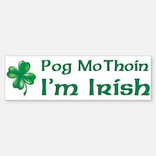 POG MO THOIN (KISS MY A**) Bumper Bumper Bumper Sticker