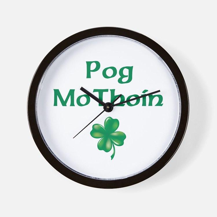 POG MO THOIN (KISS MY A**) Wall Clock