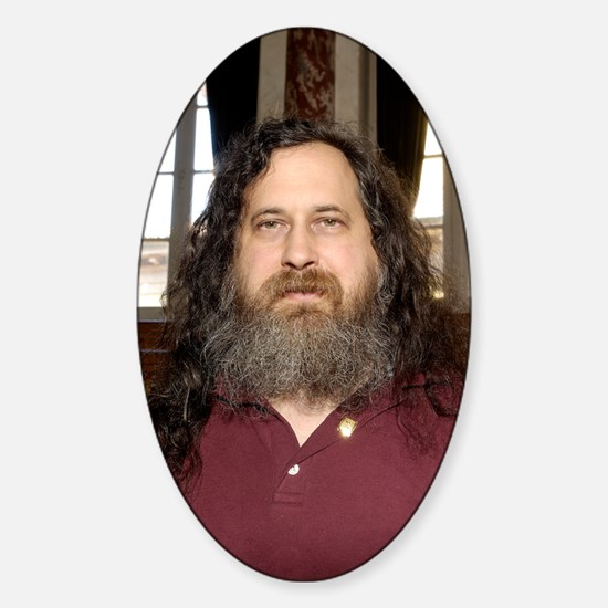 Richard Stallman, software develope Sticker (Oval)