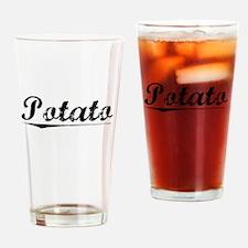 Potato, Vintage Drinking Glass