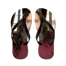 Richard Stallman, software developer Flip Flops
