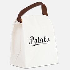 Potato, Vintage Canvas Lunch Bag