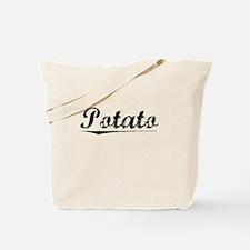 Potato, Vintage Tote Bag