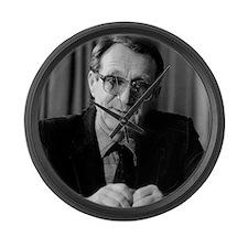 Roald Sagdeev, Russian physicist Large Wall Clock