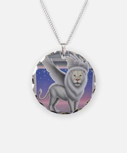 Winged Lion Necklace