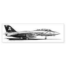 F14 Tomcat Bumper Sticker