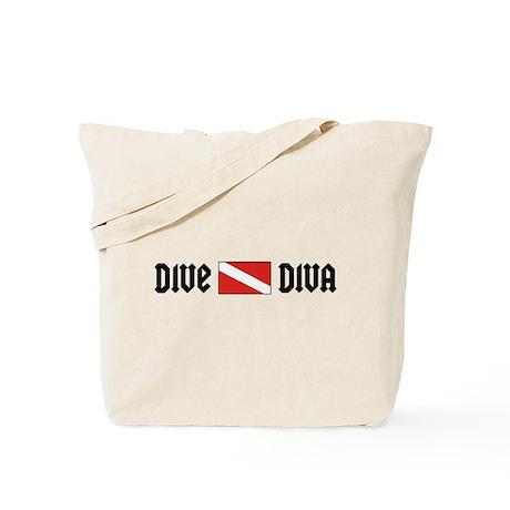 Dive Diva Tote Bag