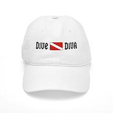 Dive Diva Baseball Cap