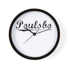 Poulsbo, Vintage Wall Clock
