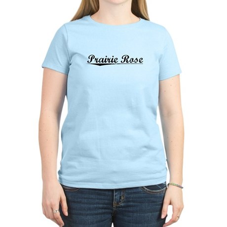 Prairie Rose, Vintage Women's Light T-Shirt
