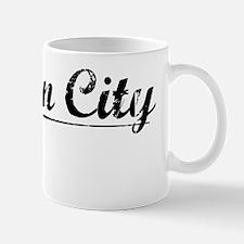 Preston City, Vintage Mug