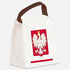 Polish Flag Eagle Coat of Arms iP Canvas Lunch Bag