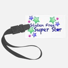 Gluten Free Super Star Luggage Tag