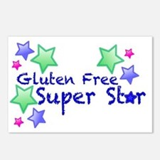 Gluten Free Super Star Postcards (Package of 8)