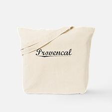 Provencal, Vintage Tote Bag