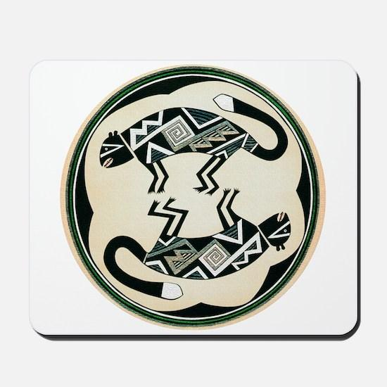 MIMBRES MOUNTAIN LION BOWL DESIGN Mousepad