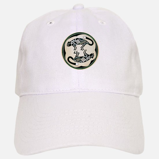 MIMBRES MOUNTAIN LION BOWL DESIGN Baseball Baseball Cap