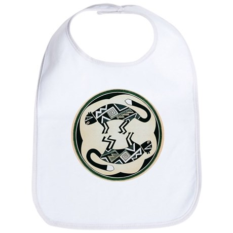 MIMBRES MOUNTAIN LION BOWL DESIGN Bib