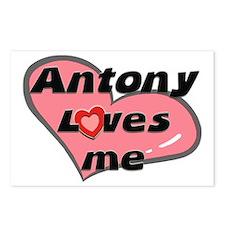 antony loves me  Postcards (Package of 8)