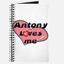 antony loves me Journal