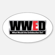 WW the Entlebucher D Oval Decal