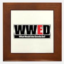 WW the Estrela D Framed Tile
