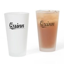 Quinn, Vintage Drinking Glass