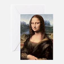 Mona Lisa Painting / Portrait Greeting Card