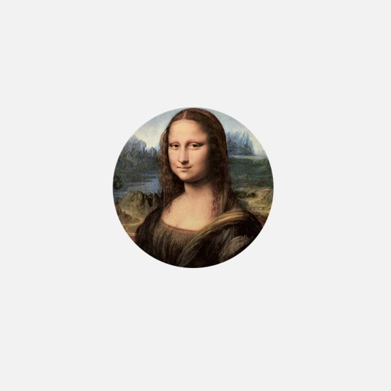 Mona Lisa Painting / Portrait Mini Button