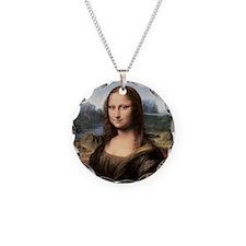 Mona Lisa Painting / Portrai Necklace