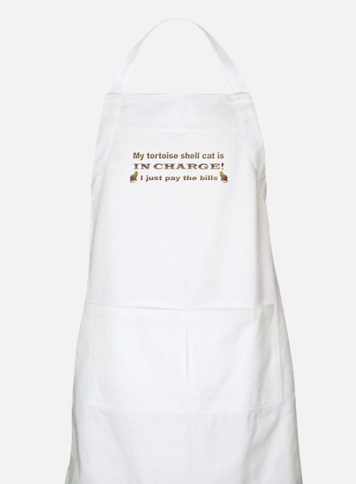 Tortie in Charge BBQ Apron