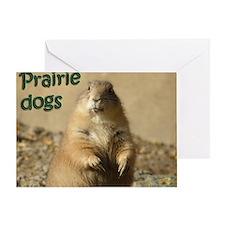 Prairie Dogs Greeting Card