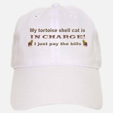 Tortie in Charge Baseball Baseball Cap